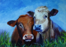 Cow Pals Resized