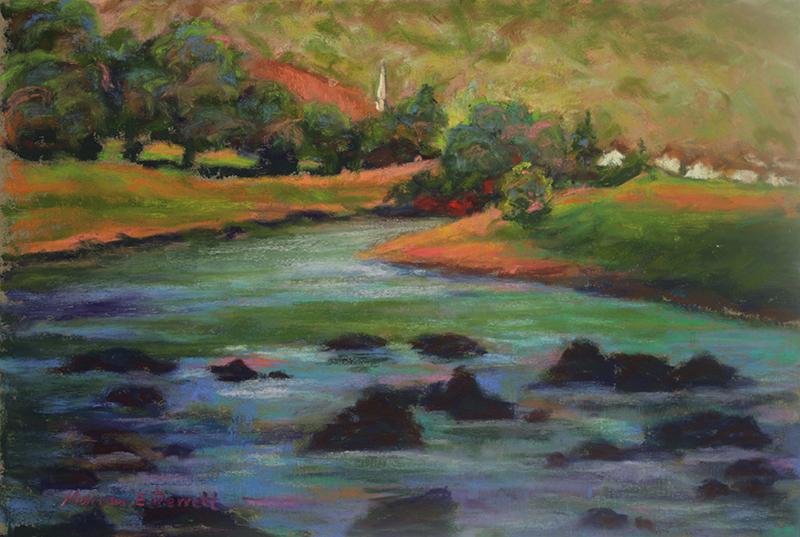 River Wye at Llandogo