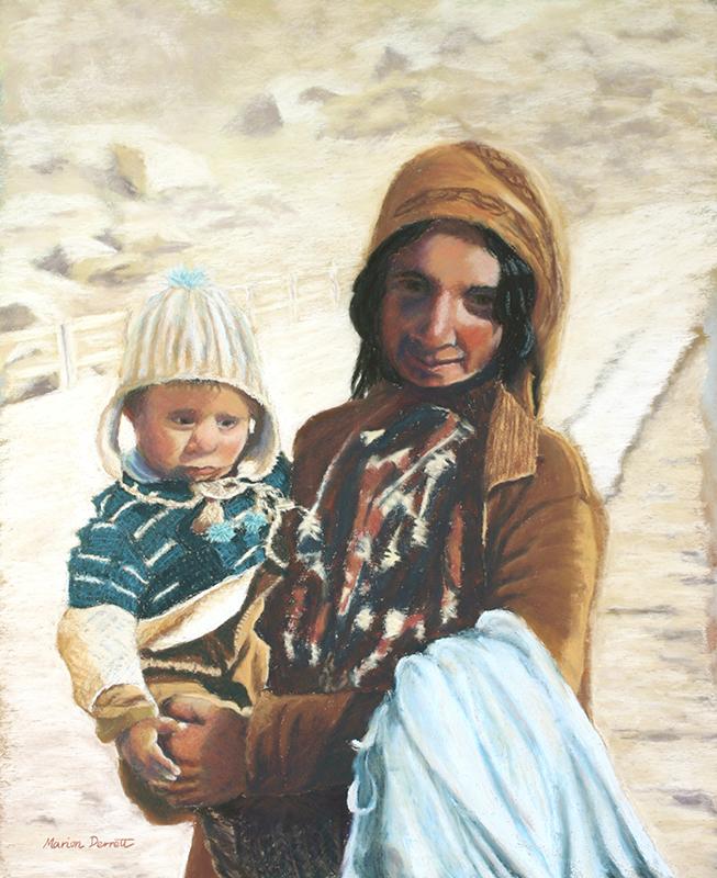 Tribal Woman & Child