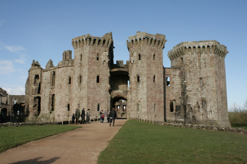 2014-03-01 Raglan Castle 1 Resized