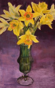 Vase of Daffodils Resized