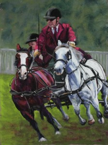 Monmouth Show Double Harness Scurry Driving Resized