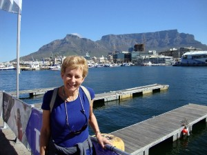 View of Table Mountain from Cape Town Waterfront