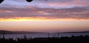 Langebaan Beach Sunset