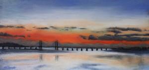 River Severn Sunset