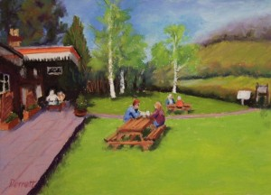 Teatime At Tintern Old Station