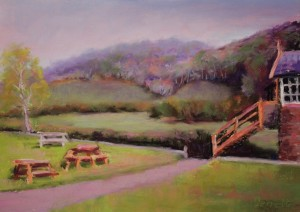 Tintern Old Station View Across The Valley