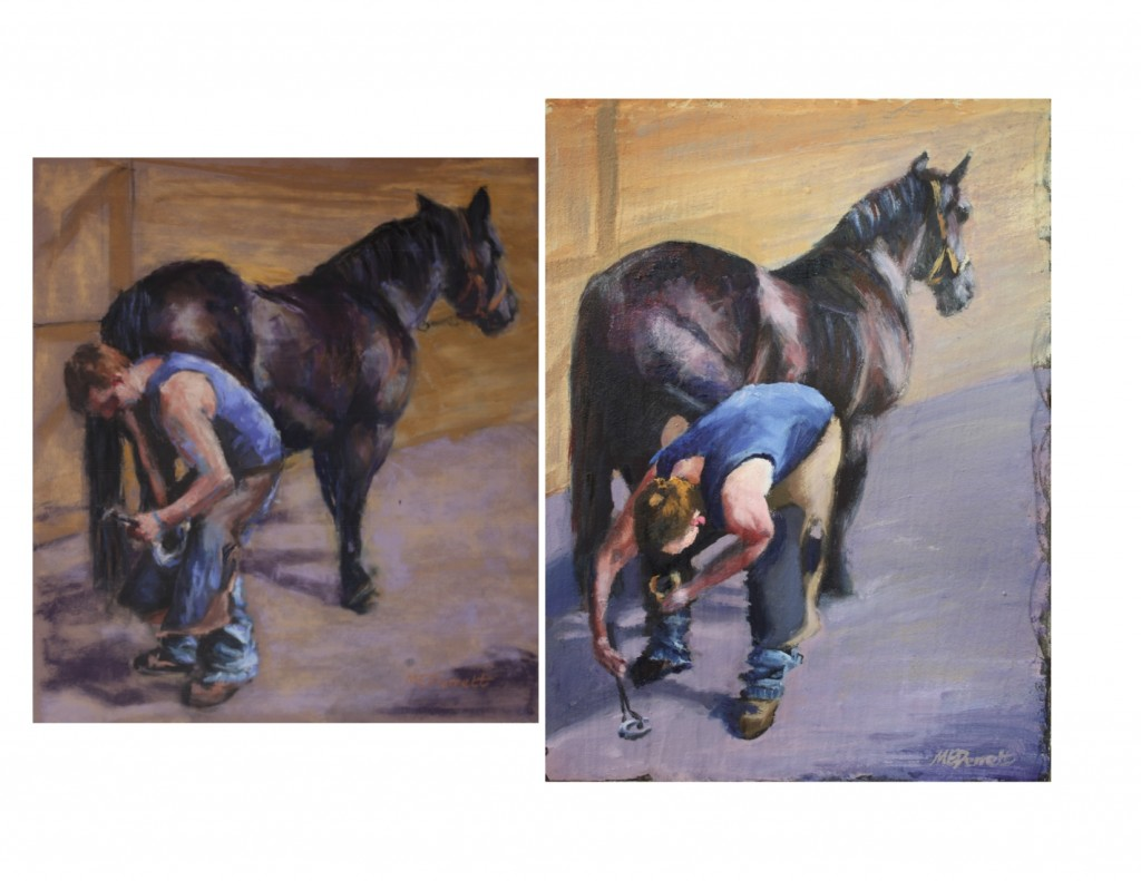 Farrier at Work 1 and 2