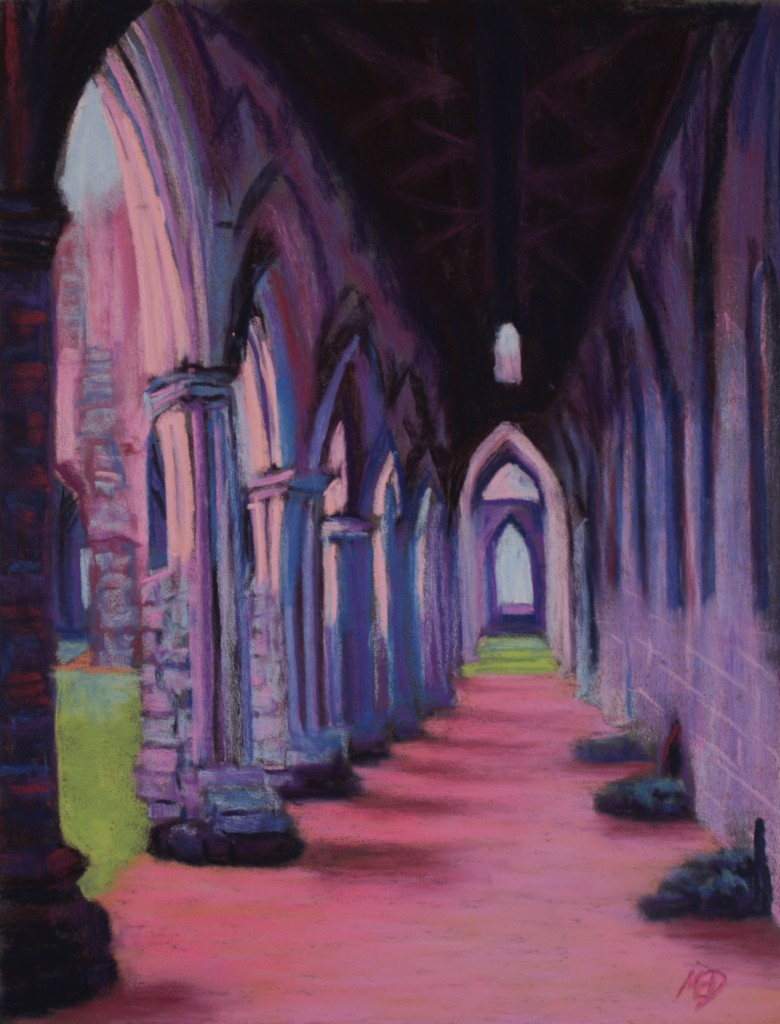 Tintern Abbey Cloisters